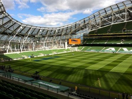 The Rugby Ground Guide Aviva Stadium Ireland