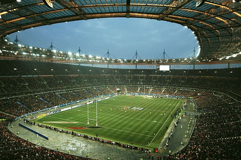 the rugby ground guide stade de france france. Black Bedroom Furniture Sets. Home Design Ideas