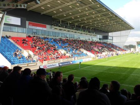 The Rugby Ground Guide Aj Bell Stadium Sale Sharks