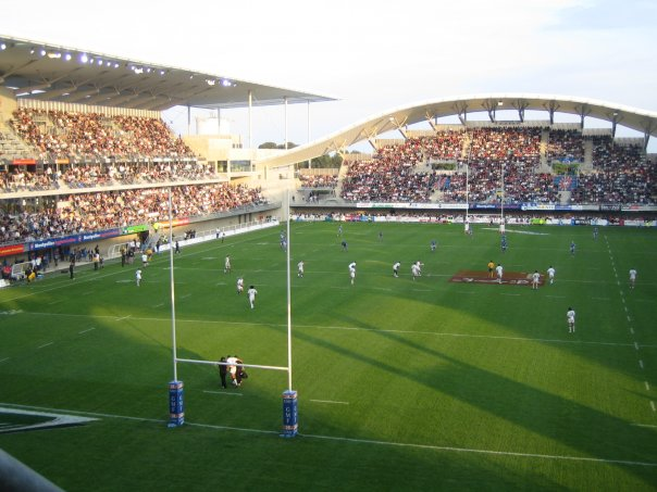 the rugby ground guide stade yves du manoir montpellier herault rugby. Black Bedroom Furniture Sets. Home Design Ideas