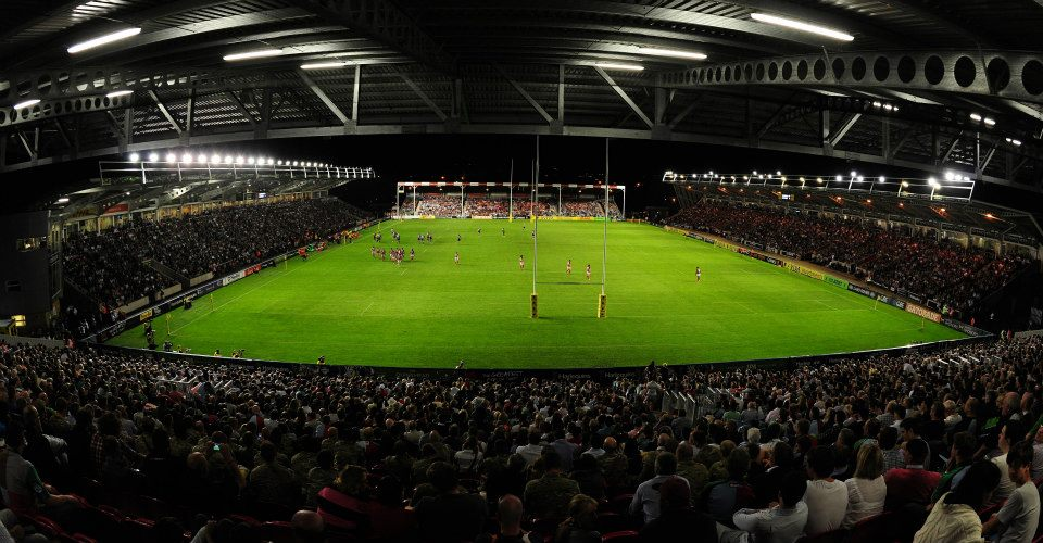 Twickenham Stadium Parking >> The Rugby Ground Guide - Twickenham Stoop (Harlequins)