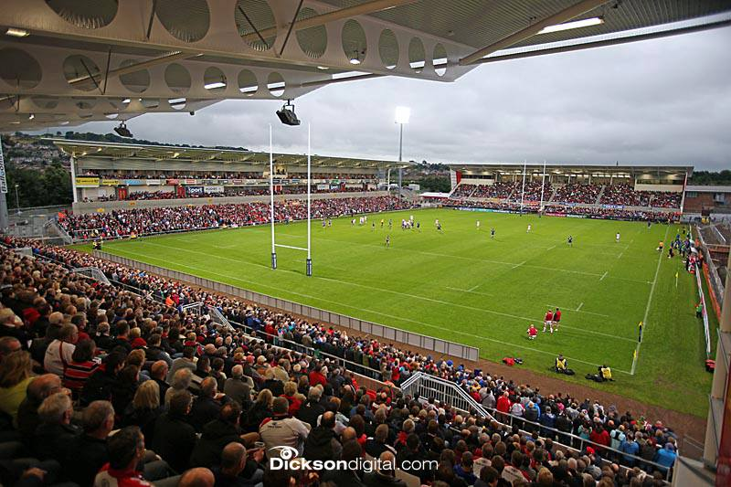 The Rugby Ground Guide Ravenhill Kingspan Stadium