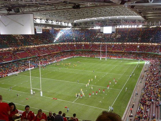 The Rugby Ground Guide The Millenium Stadium Wales